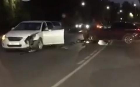 В Пензенской области в аварии пострадала женщина
