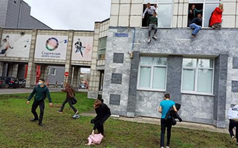 В Перми при стрельбе в университете погибли 8 человек