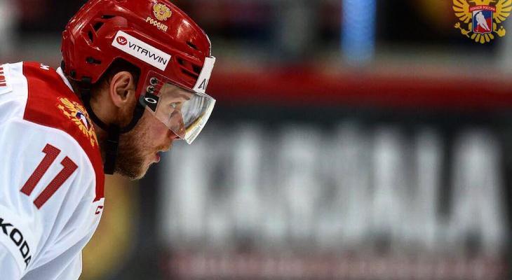 Пензенский хоккеист Сергей Андронов выступит на Олимпиаде