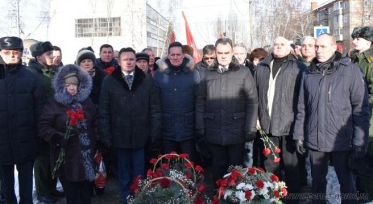 В Пензе почтили память погибших в блокаде Ленинграда