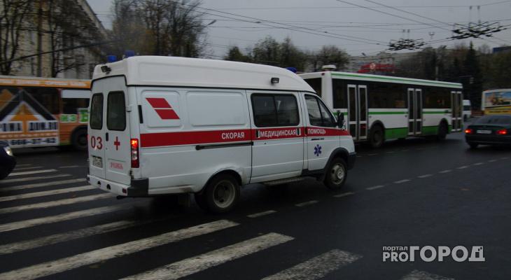 В Пензе водитель сбил ребенка на улице Пушкина и скрылся