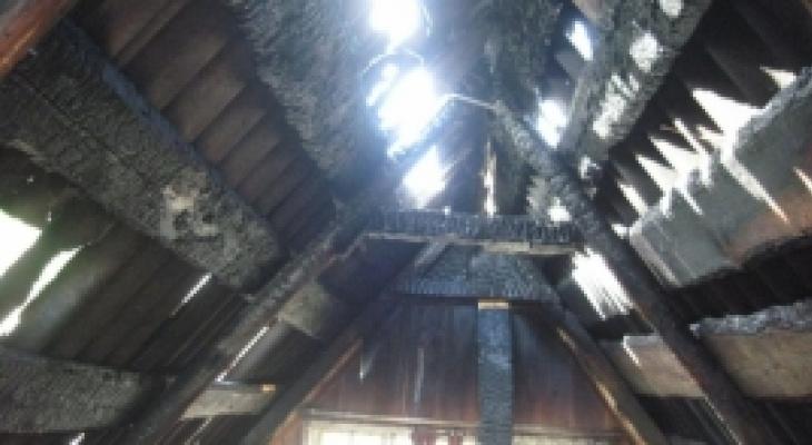В Пачелмском районе в сгоревшем доме обнаружен труп мужчины