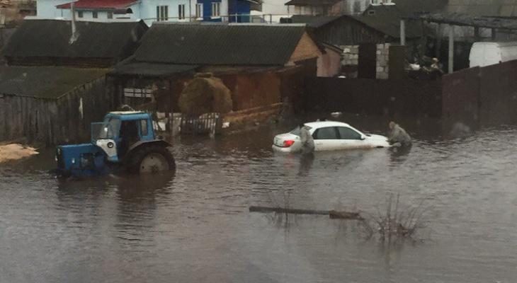 В Пензенской области вода уходит с подтопленных территорий