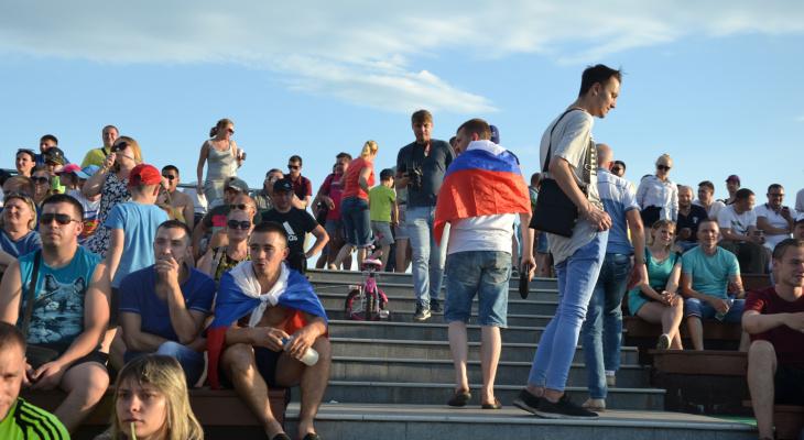 Пензенцы уходили с матча Россия-Уругвай, не дождавшись финального свистка