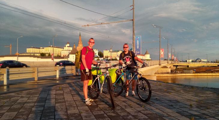 Пензенцы совершили велопутешествие по России:  шесть городов, 12 дней, 1315 километров