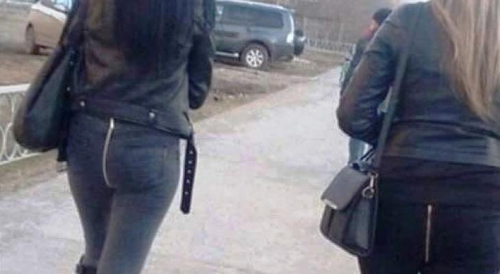 «Аварийный выход, или запасной вход»: пензенцы обсуждают современных модниц