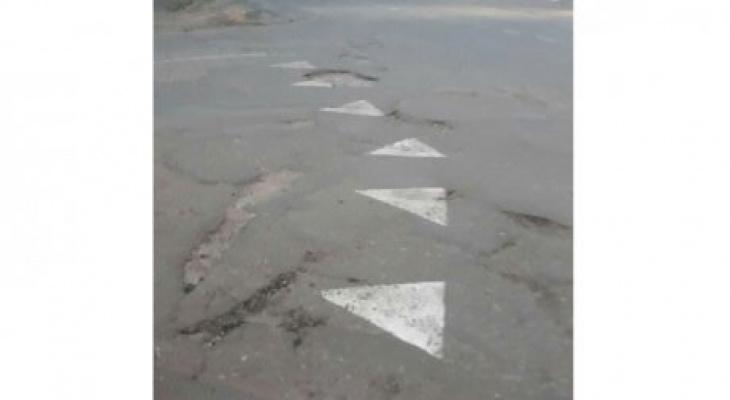 «Суровые каменские дороги»: в Пензенской области «зебру» рисуют по-новому