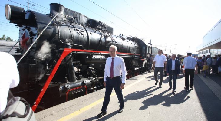 Ретро-поезд будет возить пензенцев по выходным в Тарханы?