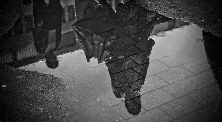 В Пензе с дождем не справляются даже ливневки - видео