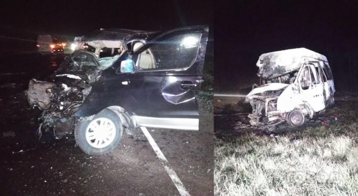 «Кошмар!»: появились фото с места смертельной аварии под Пензой