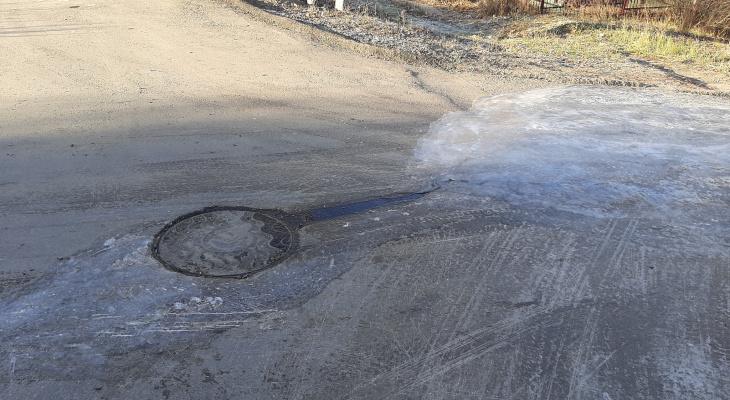 На улице Жуковского жители более сотни домов пятые сутки страдают без воды