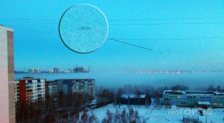 В объектив домашней камеры пензенца попал НЛО
