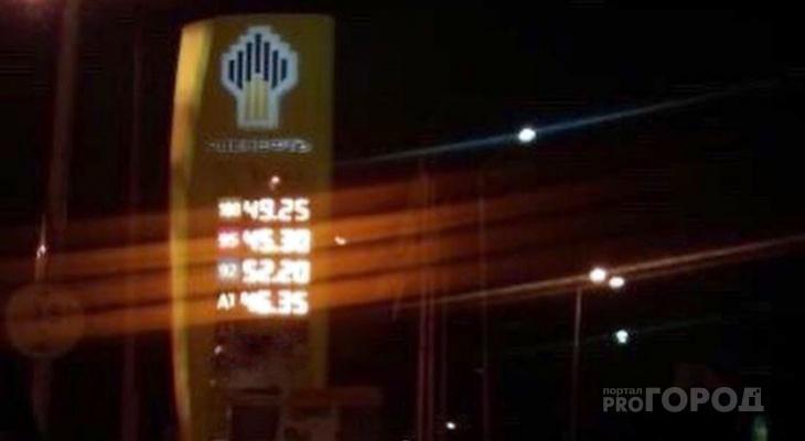 Автомобилистов Пензы шокировала цена на бензин