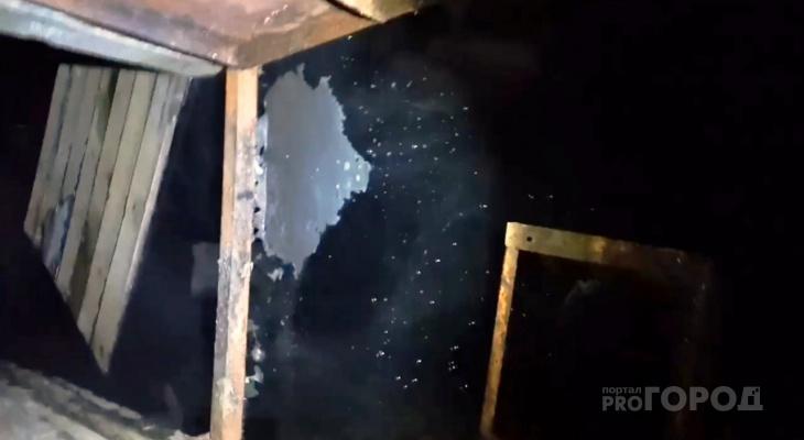 Последствия жуткой аварии ЖКХ в Пензе – видео от жителей дома