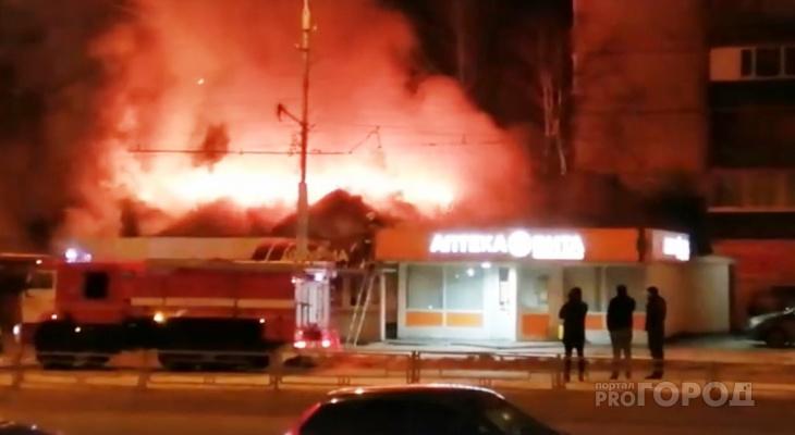 Следователи займутся проверкой пожара в торговом павильоне Пензы