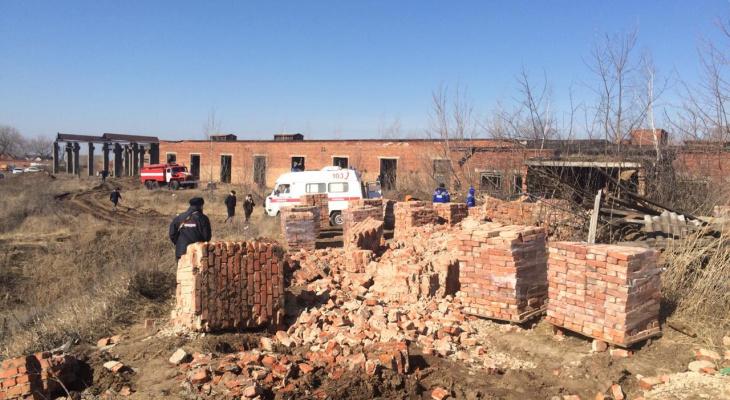 В Сердобске на мужчину рухнуло здание