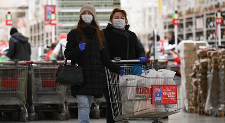 В магазинах Пензы из-за коронавируса могут перестать принимать наличные
