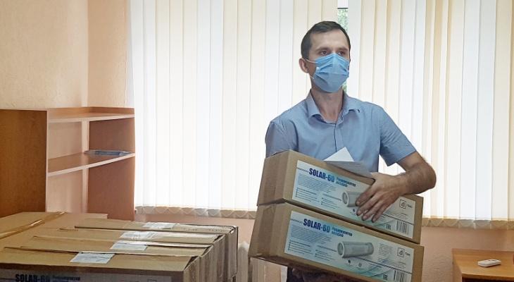 В Пензе закупили аппараты для обеззараживания воздуха