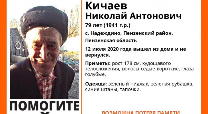 Пензенцев просят помочь в поисках пожилого мужчины