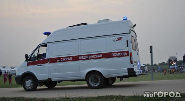 Трое пострадавших: под Пензой столкнулись ВАЗ и грузовик