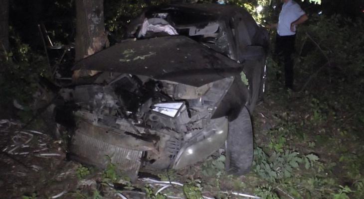 Появилось видео с места смертельного ДТП в Башмаковском районе