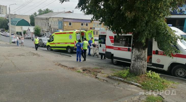 Увезла реанимация: в Пензе на Володарского сбили велосипедиста