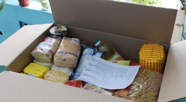 Кто получит продуктовые наборы перед Новым годом в Пензенской области?