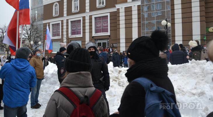 Как прошла акция в Пензе в защиту Навального: фоторепортаж