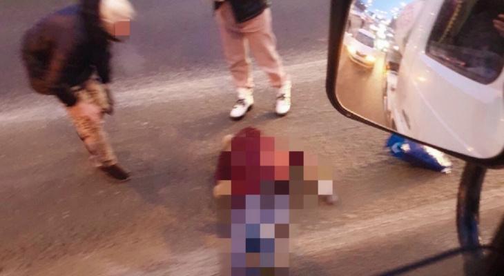 В Пензе сбитая на ул. Окружной женщина умерла
