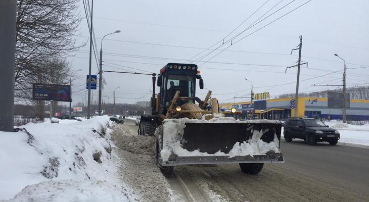 С улиц Пензы исчезает снег
