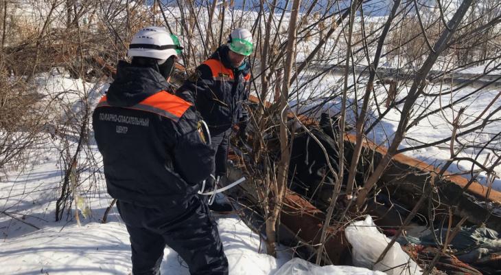 В Пензе из теплотрассы извлекли тело женщины