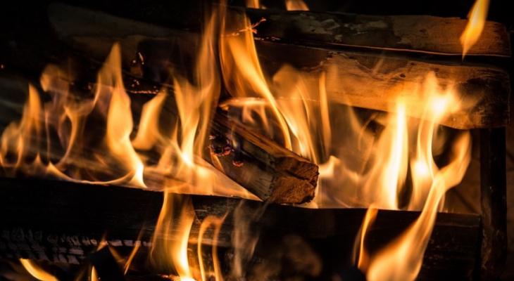 В Нижнеломовском районе в пожаре погиб мужчина