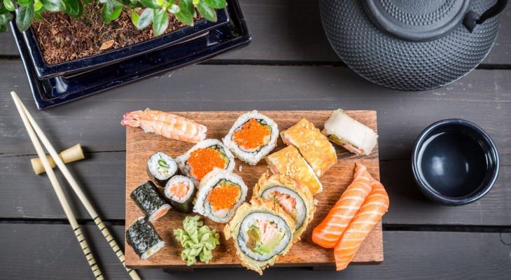 Заказ японской еды в Суши Мастер (Санкт Петербурге)