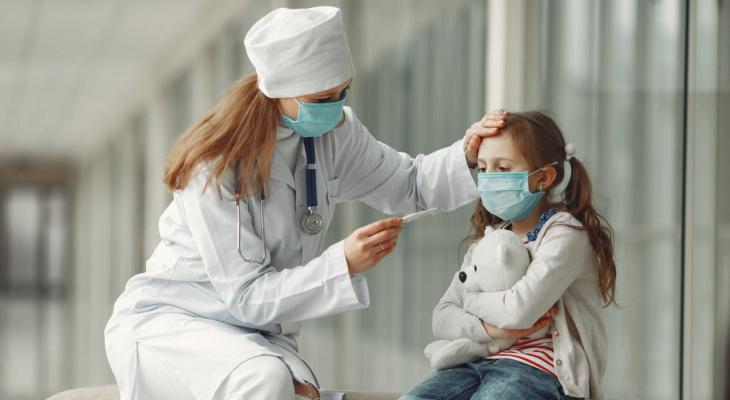 В Пензенской области COVID-19 заразились несколько десятков детей