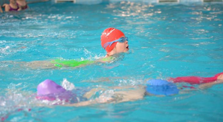 В Спутнике 6-летние пловцы поучаствовали в празднике спорта