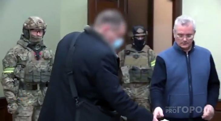 «Был спокоен». Стали известны подробности обыска у экс-губернатора Ивана Белозерцева