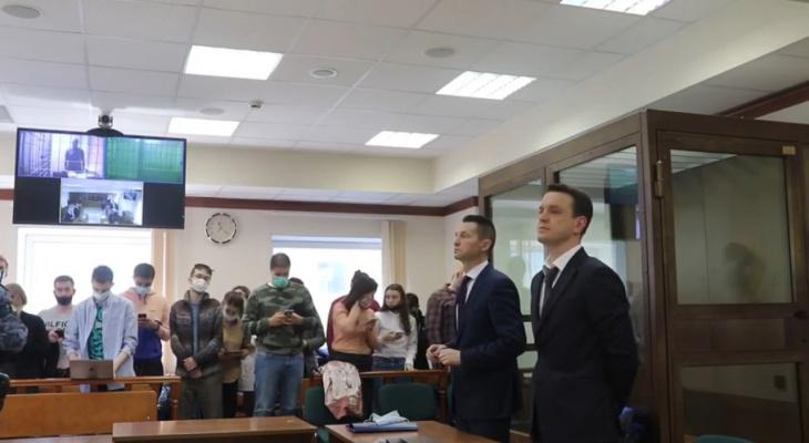 Появилось видео из зала суда, где рассматривали апелляцию Белозерцева