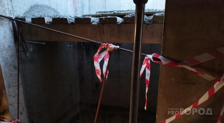 В Пензе бетонщик упал в шахту лифта и погиб