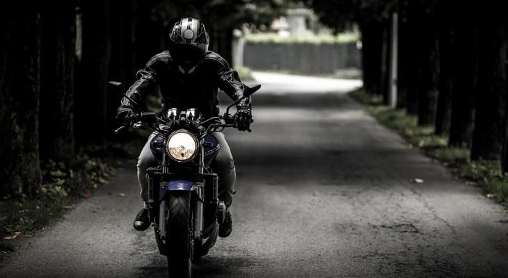 В Пензе мотоциклиста госпитализировали после ДТП