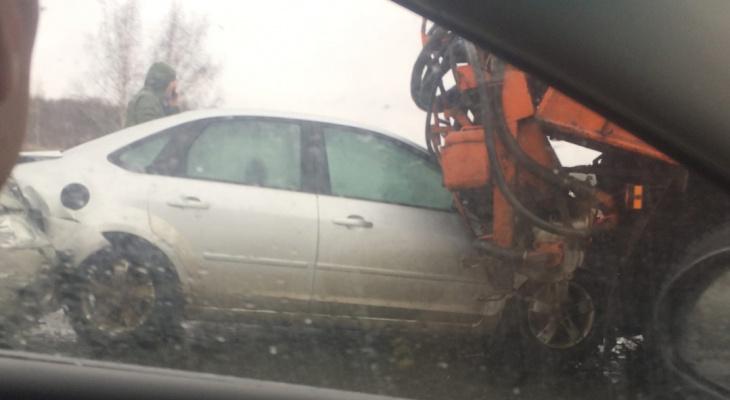 На трассе в Пенза-Саранск произошла жесткая авария