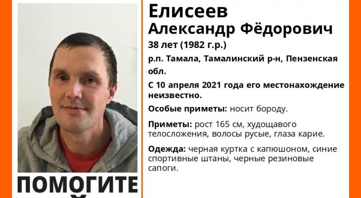 В Пензенской области пропал мужчина с бородой