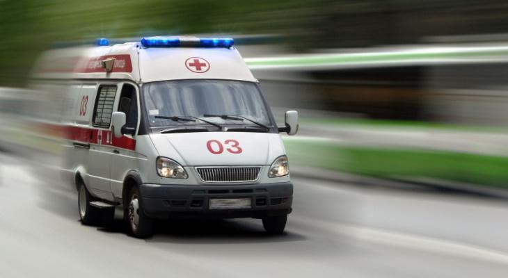 В аварии с КамАЗом под Пензой пострадал человек