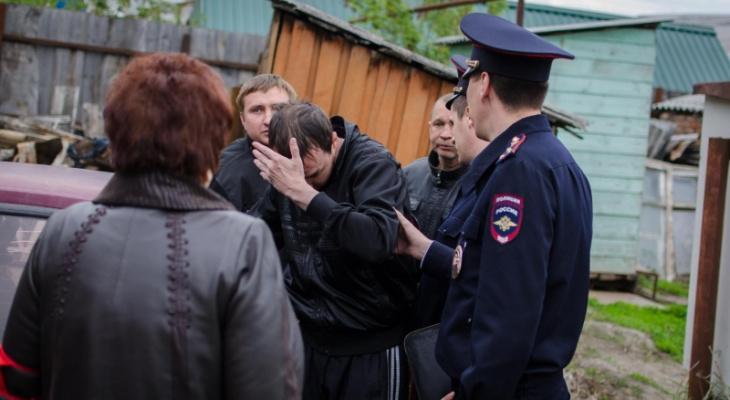 В Пензе задержали мужчину, который с ножом напал на собственного сына