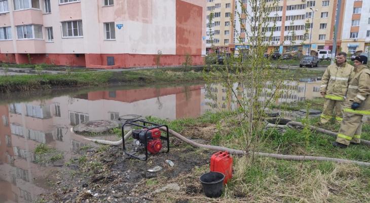 В Пензе городские службы занимаются прочисткой ливневок