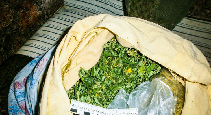 У пензячки при обыске нашли почти 2 килограмма конопли