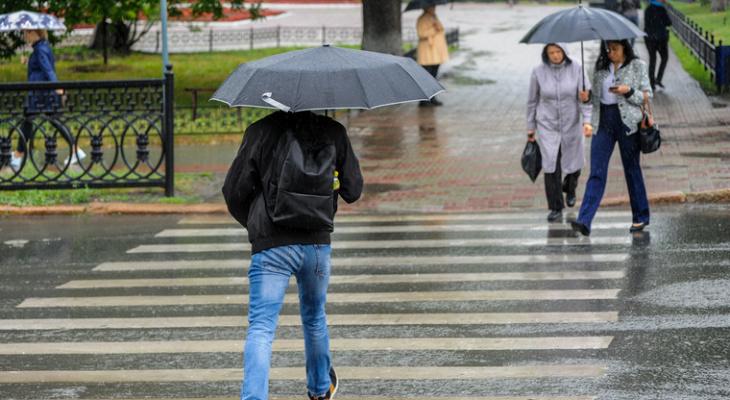 Готовьте зонтики! Синоптики объявили прогноз погоды в регионе