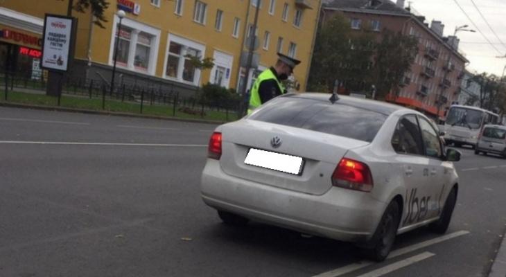 В Пензенской области полиция проверяет таксистов