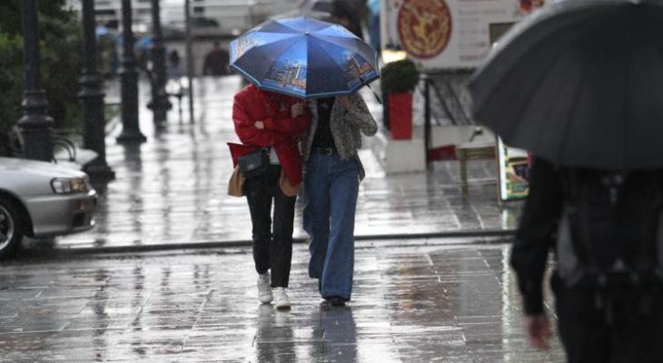 «Грозовые дожди»: метеорологи озвучили прогноз погоды в регионе