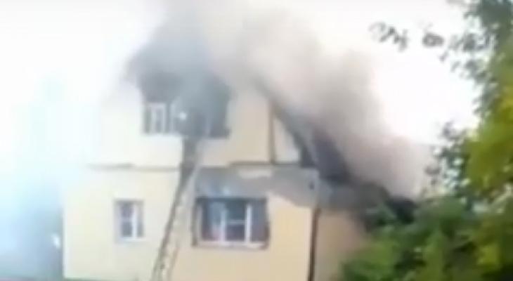 В Пензенской области пожар в доме унес жизнь 36-летней женщины