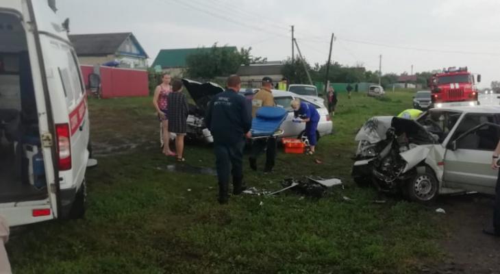 Два «ВАЗа» столкнулись в Пензенской области: пострадали пятеро